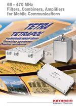 каталог фильтров для 450 МГц