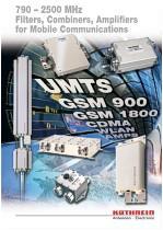 каталог фильтров GSM, CDMA, UMTS, LTE