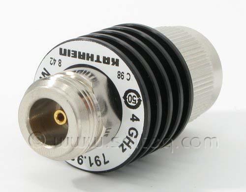 коаксиальный аттенюатор до 4 ГГц