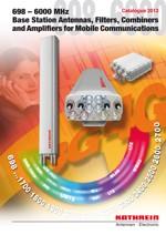 каталоги оборудования для мобильной связи Kathrein